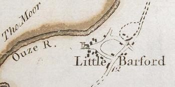 Little Barford in 1765 [R1/110]